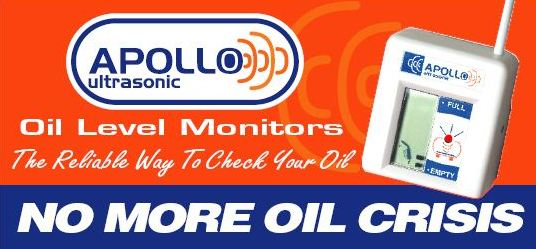 No more oil crisis with Apollo Oil Level Monitors