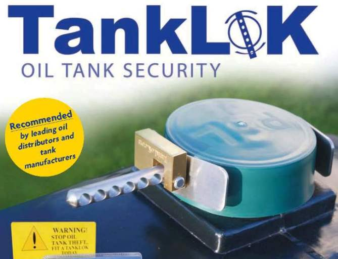 Tanklok Oil and Water Tank Lock